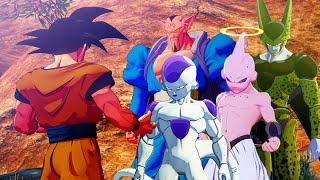 Dragon Ball Z: Kakarot - All Revived Boss Fights (Frieza, Cell, Dabura & Kid Buu)