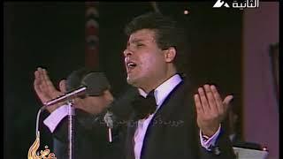 يونس شلبى يقدم محمد على سليمان فى اغنية  سنة حلوة
