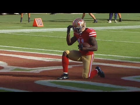 49ers Star Drops to Knees After Touchdown For Prayer Over Lost Baby