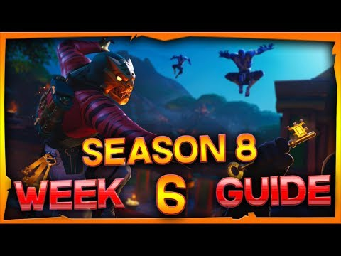 Fortnite Season 8 Week 6 Challenges Guide And Locations
