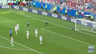 Россия - Уругвай 2-0