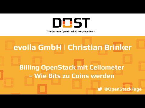 DOST 2016: C. Brinker - evoila GmbH | Billing OpenStack mit Ceilometer – Wie Bits zu Coins werden