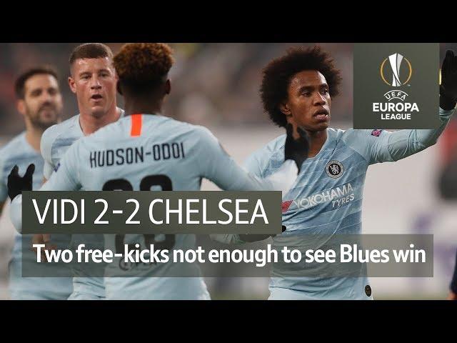 Vidi vs Chelsea (2-2) | UEFA Europa League Highlights