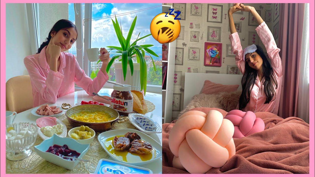 روتيني الصباحي الحقيقي في العطلة !رغد خالد💕