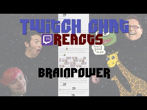 NOMA - Brain power (Ft. Twitch chat)