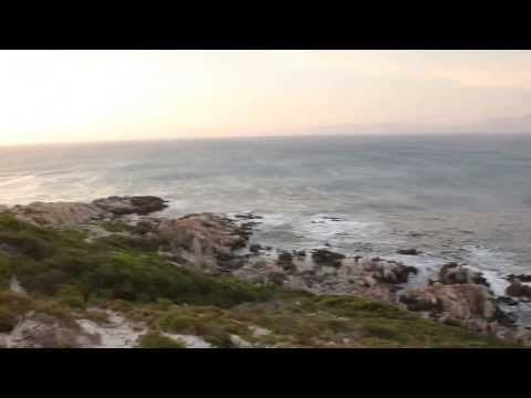 Oceanside view from Gansbaai, South Africa