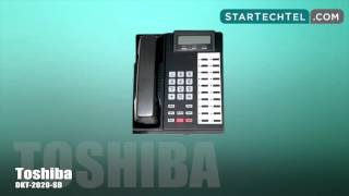 How To Set Up A Conference Call On The Toshiba DKT-2020-SD Phone