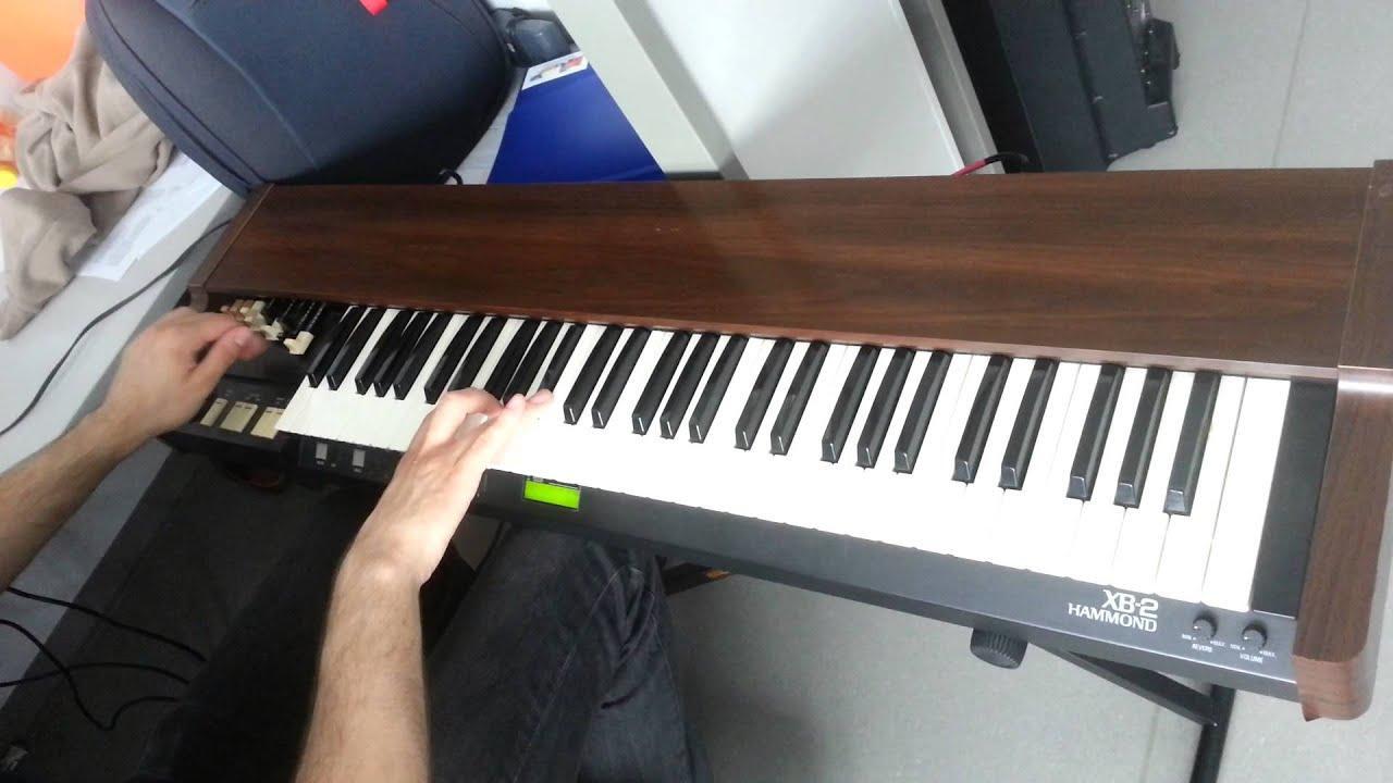 Hammond XB-2 sound problem