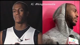"""Rajon Rondo GOES IN & EXPOSES Chris Paul """"He's A Horrible Teammate"""" & CP3 Reacts To Suspension"""