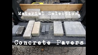 Gambar cover Choosing the Right Materials: Concrete Pavers