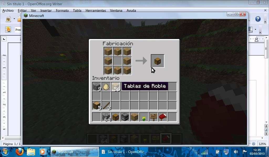 Como hacer un baul y una estufa en minecraft youtube - Como se hace una vidriera ...