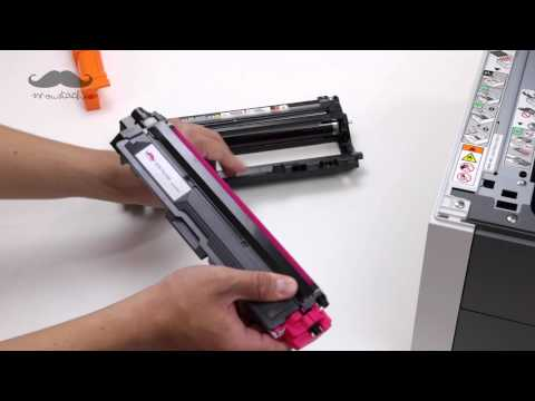 How to Install TN-225 Compatible Toner Cartridges with Printer Brother HL-3140CW