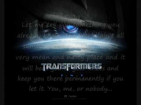 Best Transformers soundtrack of all times