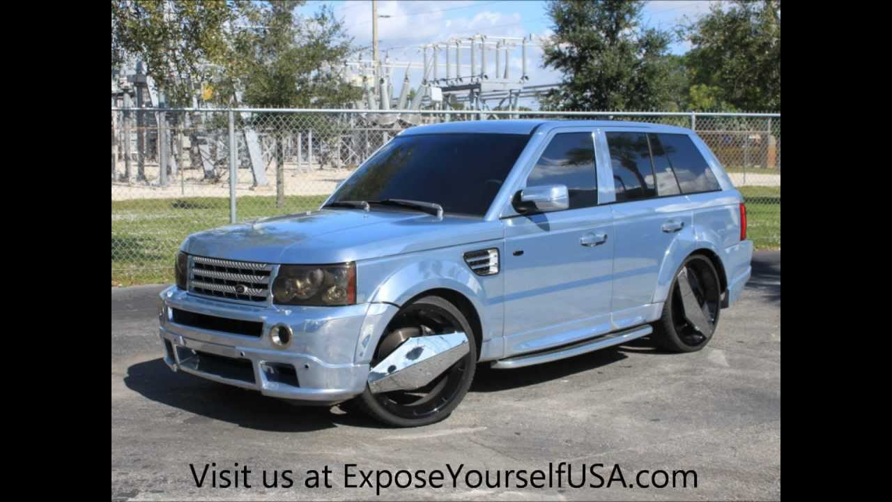 Chrome Range Rover Sport