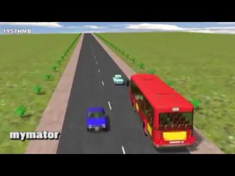 Cẩm nang lái xe an toàn - Lái xe ô tô xin vượt thế nào cho đúng.