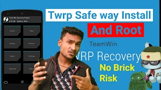 Safe way Install Twrp And Root || Kenzo