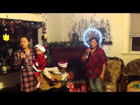 "Milo family fun karaoke ""Whispering hope"""