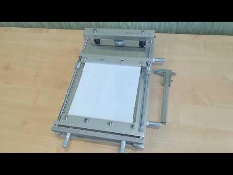 Ручной трафаретный принтер для нанесения паяльной пасты SMD Print01.