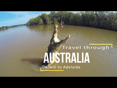Travel Australia from Darwin to Adelaide
