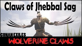 Claws of Jhebbal Sag (Wolverine Claws) - Conan Exiles