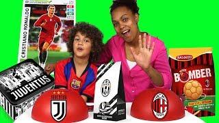CIBO JUVENTUS vs CIBO MILAN *ho trovato Cristiano Ronaldo Adrenalyn XL*