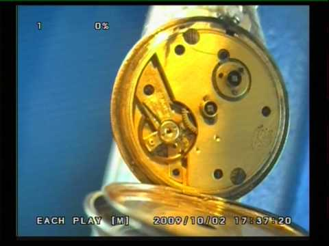 Cylinder Pocket Watch.