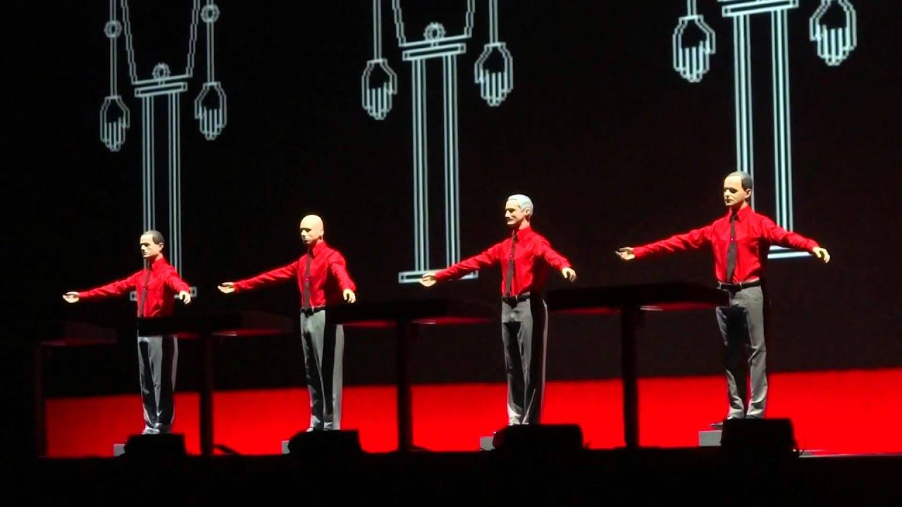 Kraftwerk. The Robots. Edmonton Jubilee Auditorium ...Kraftwerk The Robots
