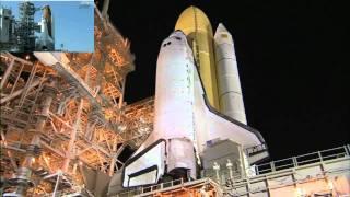 spacelivecast.de - VOD Space Shuttle Discovery STS 133 (Deutsch)
