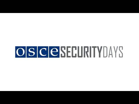 OSCE Security Days 2015: Opening Session, Session 1