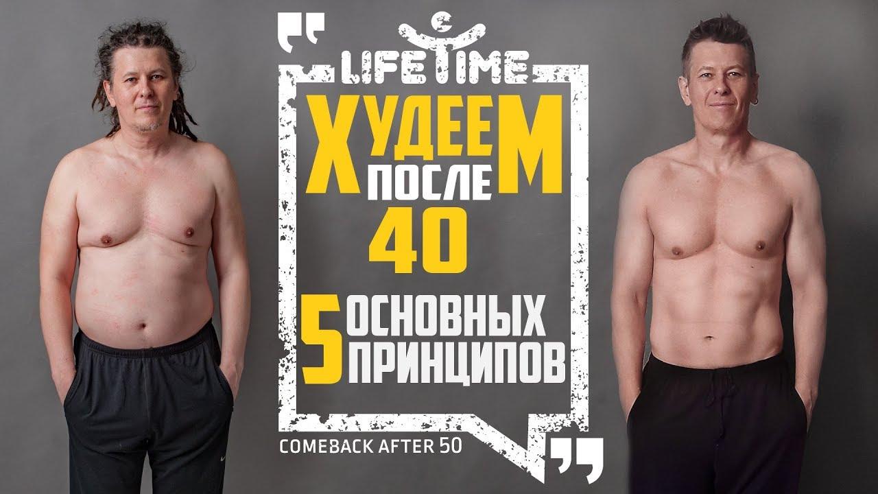Как похудеть быстро после 40.5 простых принципов.