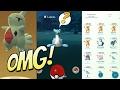 Pokemon Go Level 40 Rare Encounter - Lapras + Gym Battle