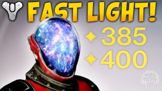 One of Unknown Player's most viewed videos: Destiny: HOW TO LEVEL UP FAST! Quickest Ways To Get 385 & 400 Light Levels Tips (Rise of Iron)