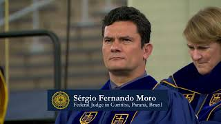 Notre Dame Commencement 2018: Sergio Moro Honorary Degree
