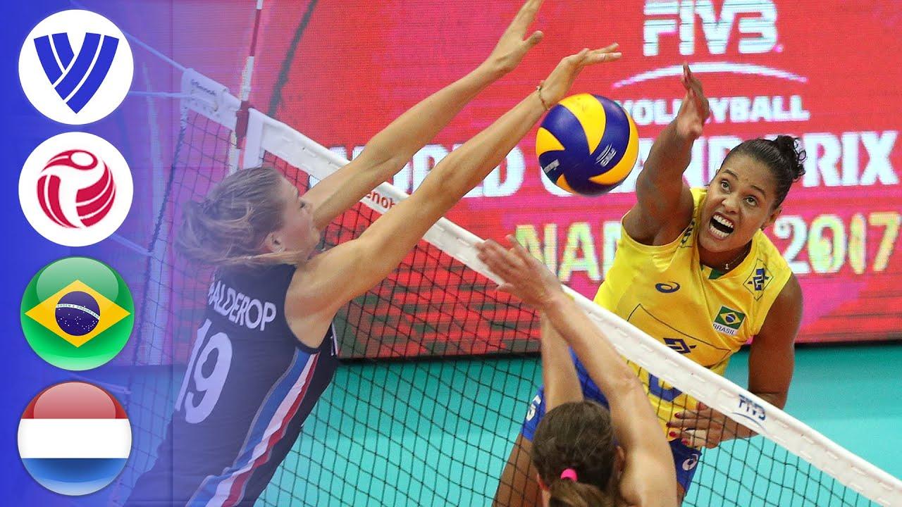 Brazil vs. Netherlands - Full Match   Final Round   Women's Volleyball World  Grand Prix 2017 - YouTube