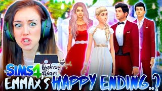 connectYoutube - WILL EMMAX GET THEIR HAPPY ENDING...?💔 V-DAY SPECIAL! (The Sims 4 - BROKEN DREAM #10! 🏚)
