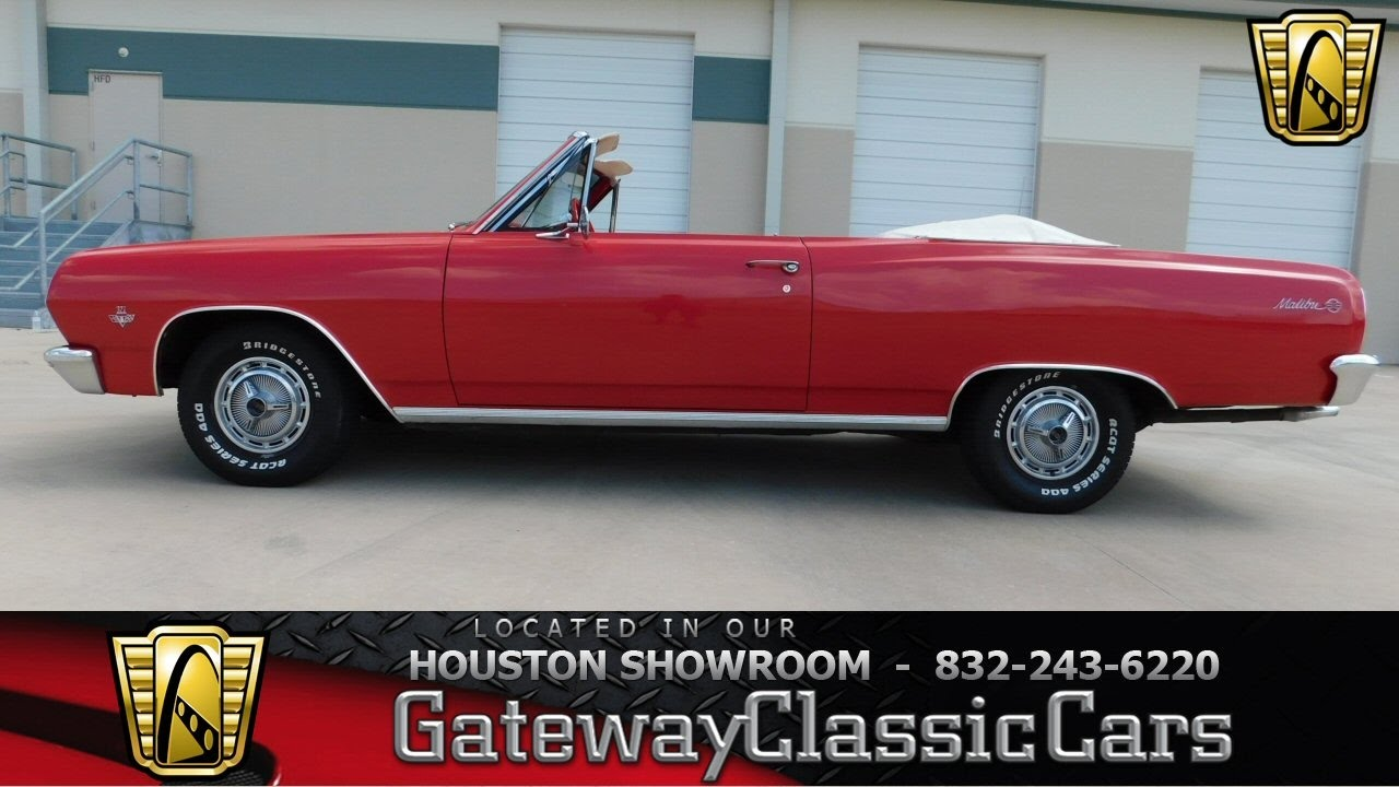 1965 Chevrolet Malibu SS for sale at Gateway Classic Cars Houston ...