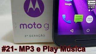 Motorola Moto G 3º ger. (2015) - Copiando MP3 e Play Musica - Português