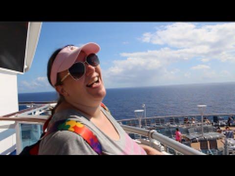 Exploring the Regal Princess Cruise Ship ~ Outside Edition ~ Vlog episode 15 [Day 3]