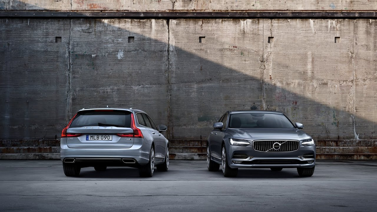 VOLVO S90 & V90 - First UK Preview - YouTube
