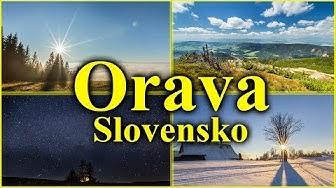 Orava Timelapse 2017 Slovakia 4K Beautiful nature of Slovakia
