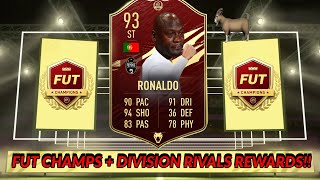 FUT CHAMPS AND DIVISION RIVALS REWARDS!! SO MANY PACKS!! - FIFA 21 ULTIMATE TEAM!