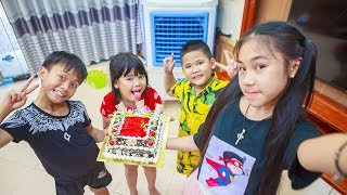 Kids Go To School | Day Birthday Of Chuns Children