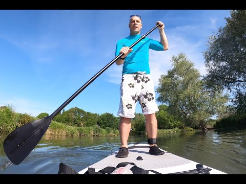 Paddle Boarding At Grantchester Meadows