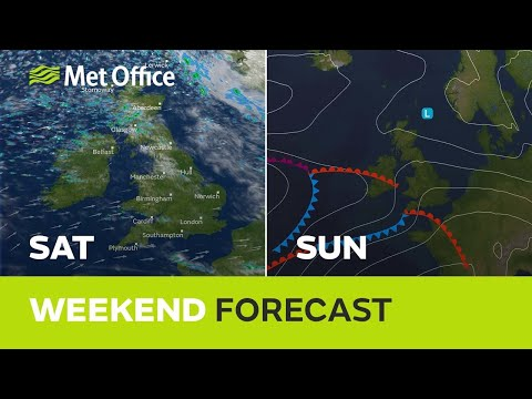 Weekend weather - Will it settle down for Christmas? 21/12/18