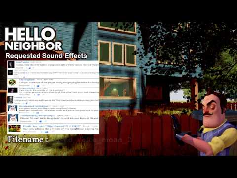 Hello Neighbor Requested Sound Effects thumbnail