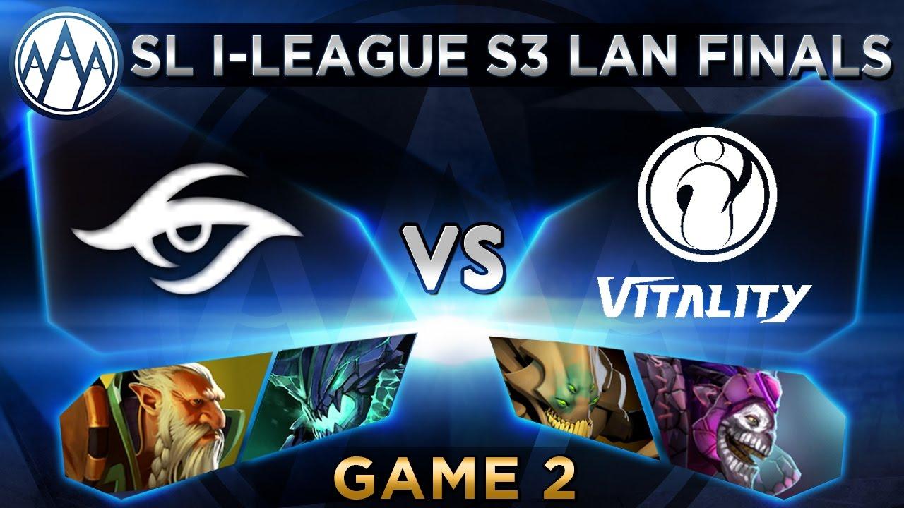 Secret vs iG.Vitality Game 2 - SL i-League StarSeries S3 LAN Finals - @LyricalDota @BTSGoDz