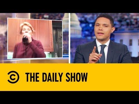 Elizabeth Warren's Boozy Instagram Video | The Daily Show With Trevor Noah