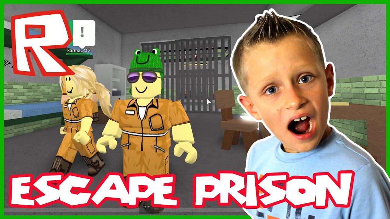 Escape The Prison Of Robloxia Roblox Youtube