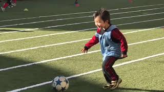 天才サッカーkidsの挑戦!  Challenge soccer  for a child genius.  Lord to Ballon d'or thumbnail