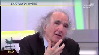 """2016 apr 22 – TV2000 – Prof. Vittorino Andreoli intervistato su """"La gioia di vivere"""""""